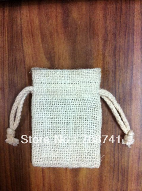 "Aliexpress.com : Buy SIZE:3""x4"", Free Shipping, White (ice cream) Color Jute pouch with cotton drawstring for jewelry,jute drawstring bag from Reliable Packaging Bags suppliers on LIVE GREEN BAGS   $158.00"