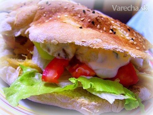 Pide chlieb (na plnenie) - Turecko - Recept