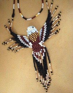 How To Make Easy Step By Instructions For Eagle Beaded