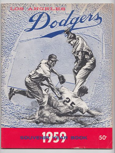 1959 Los Angeles Dodgers Baseball Yearbook World Series Champs Ebay Dodgers Los Angeles Dodgers Los Angeles Dodgers Baseball