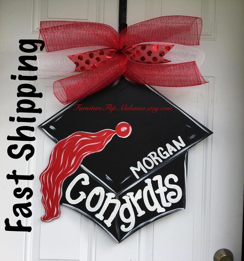 Graduation Door Hanger Graduation Cap Door Hanger Graduation Hat Door Hanger Graduation Wreat Graduation Wreath Graduation Door School Door Decorations