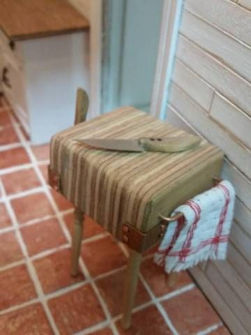 Butcher block - My First Dollhouse - Beacon Hill - Gallery - The Greenleaf Miniature Community