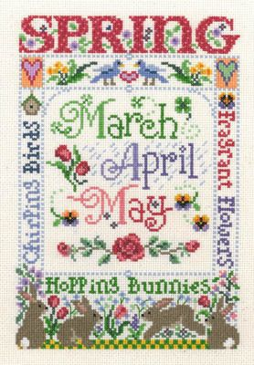 Spring Season - Cross Stitch Pattern | CrossStitch | Cross stitch