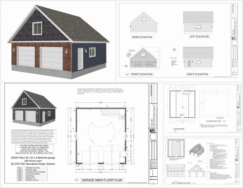 26 X 30 House Plans Elegant Image Result For 26 X 40 Garage Plan Garage Plans Detached Large Garage Plans Garage Plans With Loft