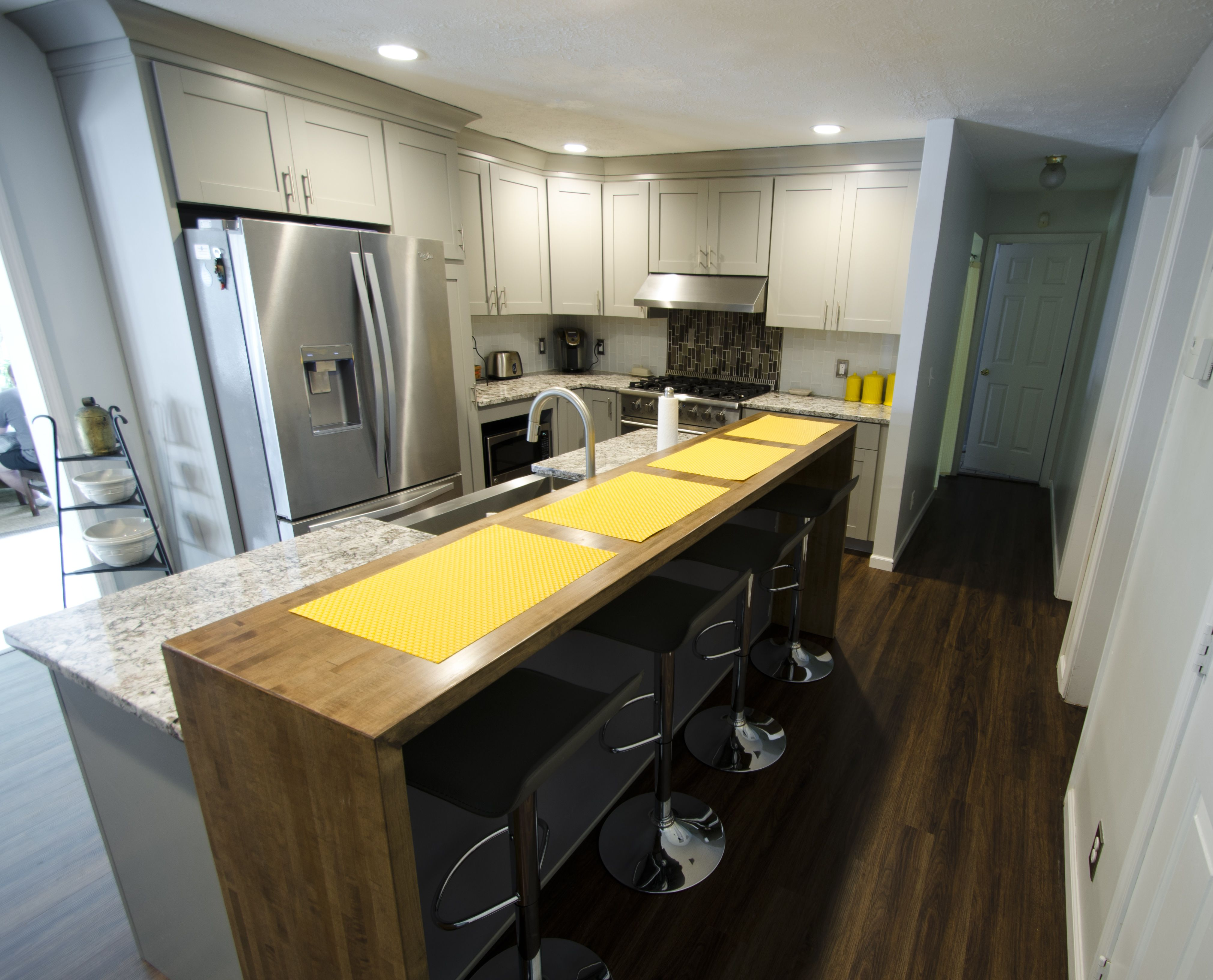 This Fresh Diamond Kitchen Remodel Was Completed By Lowe S Project