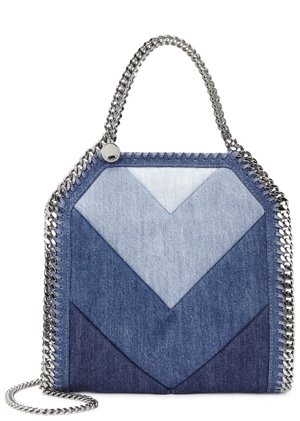 Stella McCartney Falabella mini denim shoulder bag £660 Harvey Nichols c71dea1329189