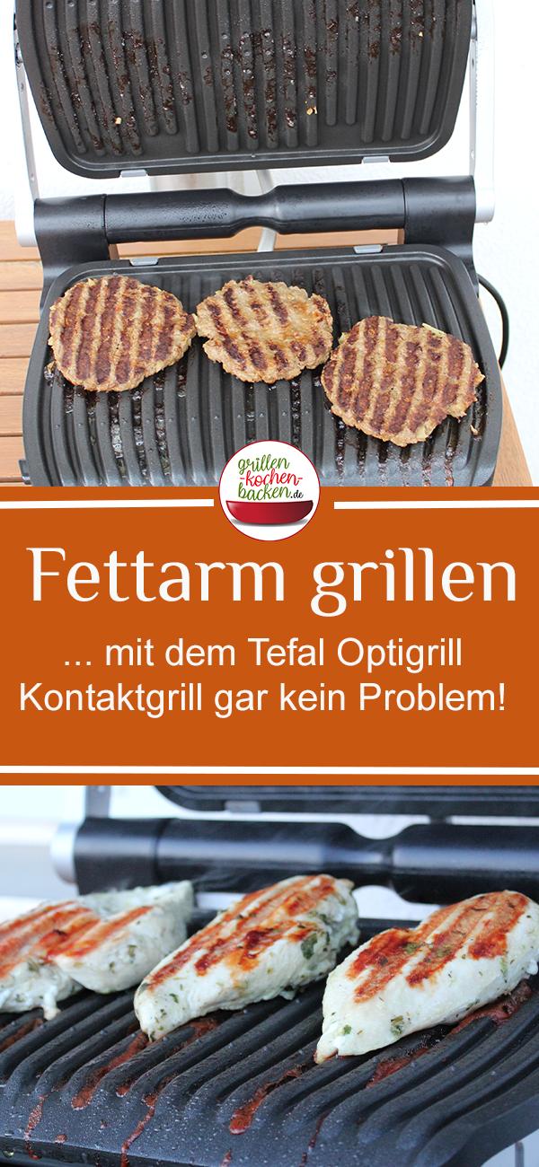 Tefal Optigrill Kontaktgrill Fettarm Grillen Kochen Und Backen Kontaktgrill Grillen