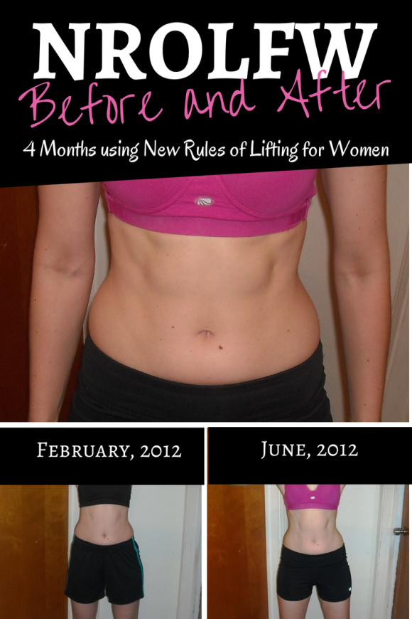 New Rules of Lifting for Women: NROLFW Progress after using the ...