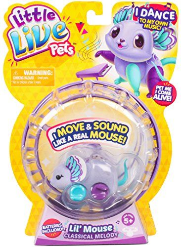 Little Live Pets Mouse Classical Melody Most Wanted Christmas