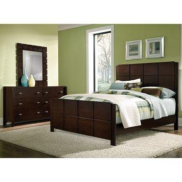 Mosaic Bedroom 5 Pc Queen Bedroom - Value City Furniture $69998