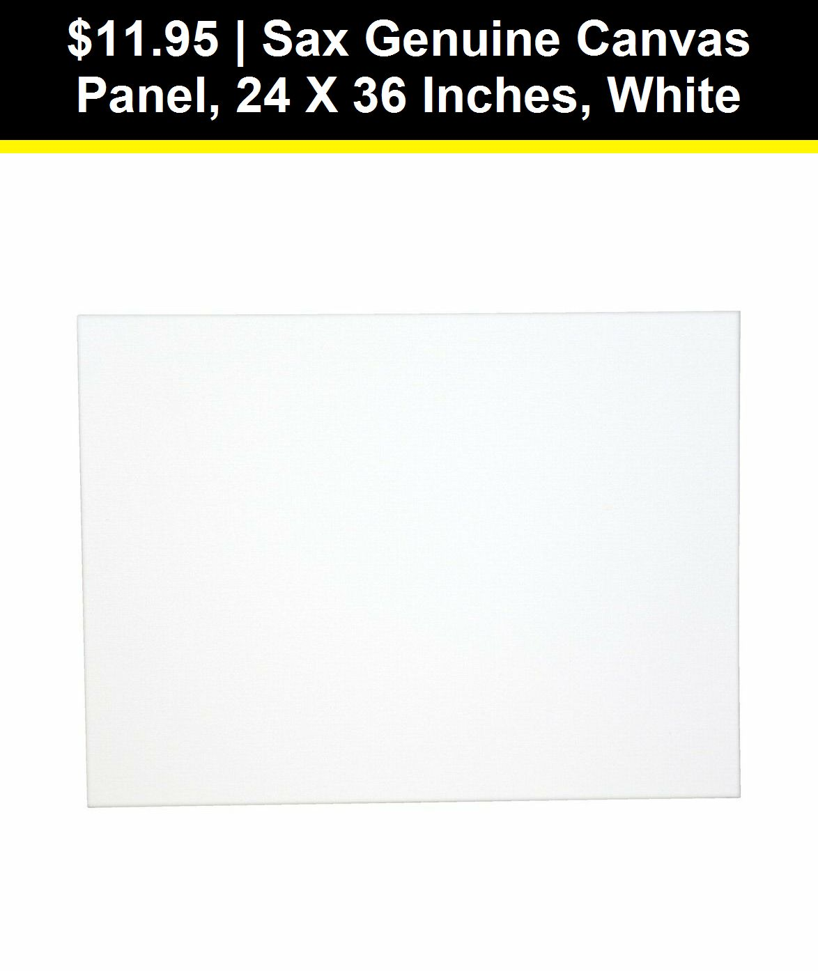 White Sax Genuine Canvas Panel 24 x 30 Inches