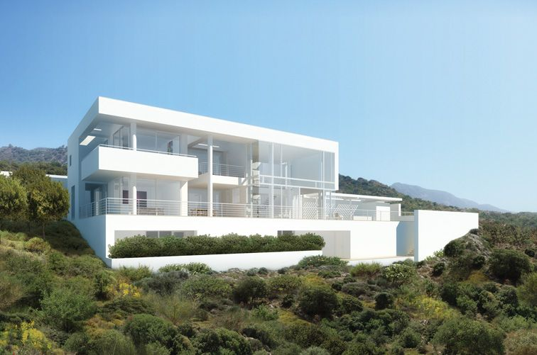 bodrum houses by richard meier - Richard Meier Homes