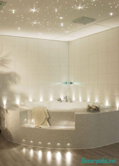 New bathroom ceiling designs and ideas 2019 | Romantic ...