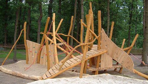 Klettergerüst Natur : Klettergerüst für spielplätze spielart la fourmilliÈre a pro
