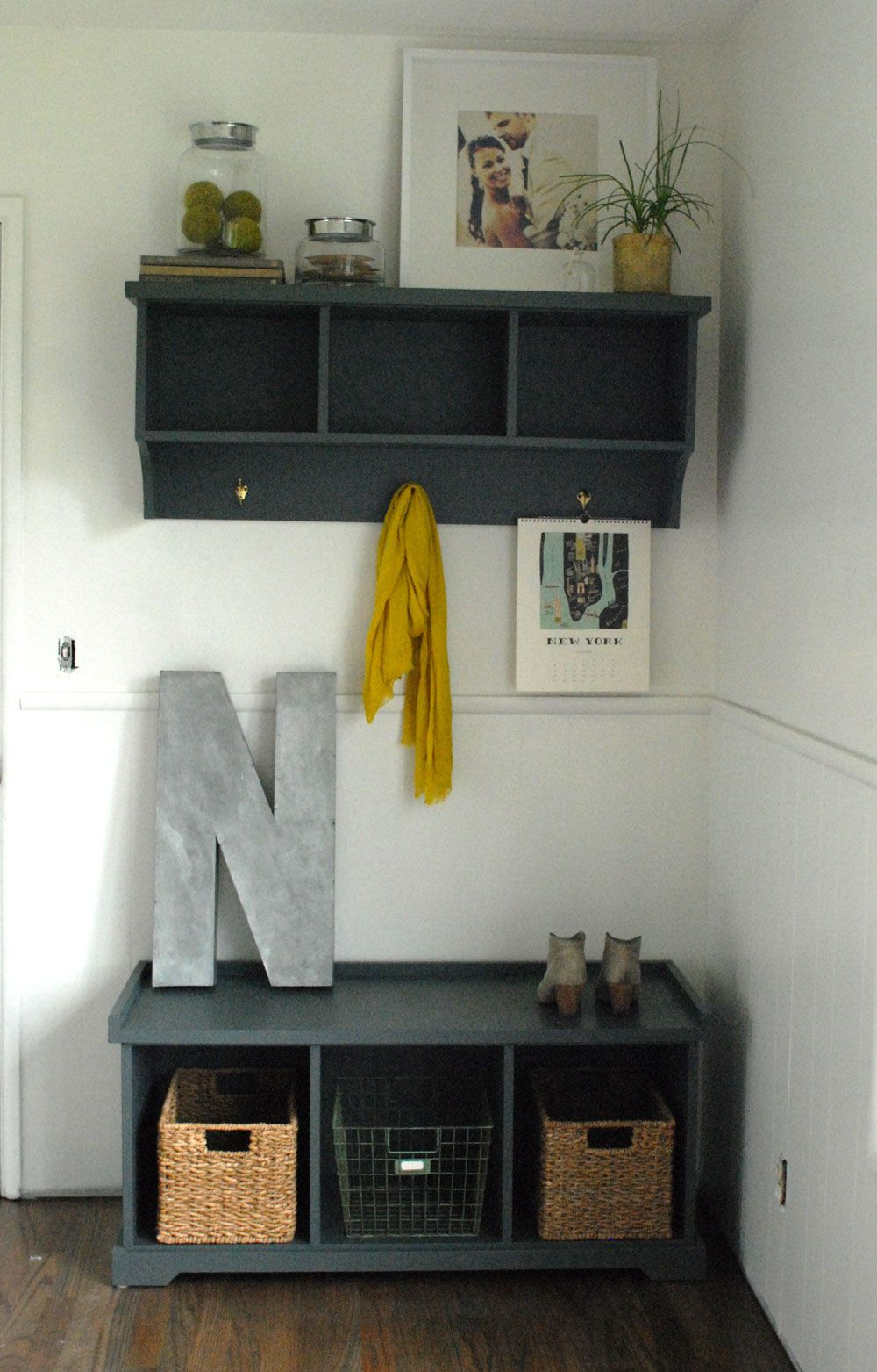 And Here S The Space With The Updated Entry Way Piece