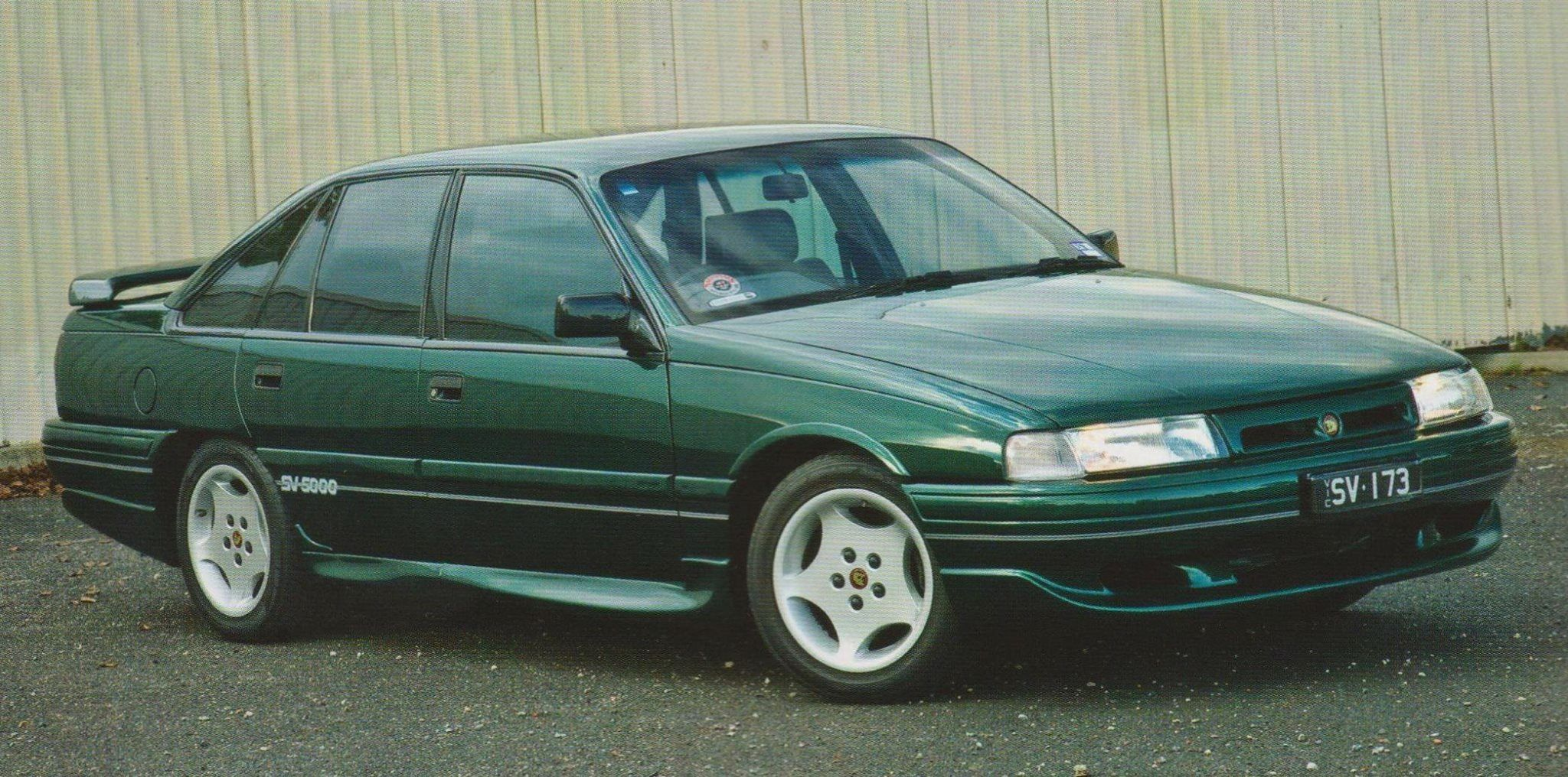 small resolution of hsv sv5000 1988 racing green 5 0ltr v8 200kw 410nm