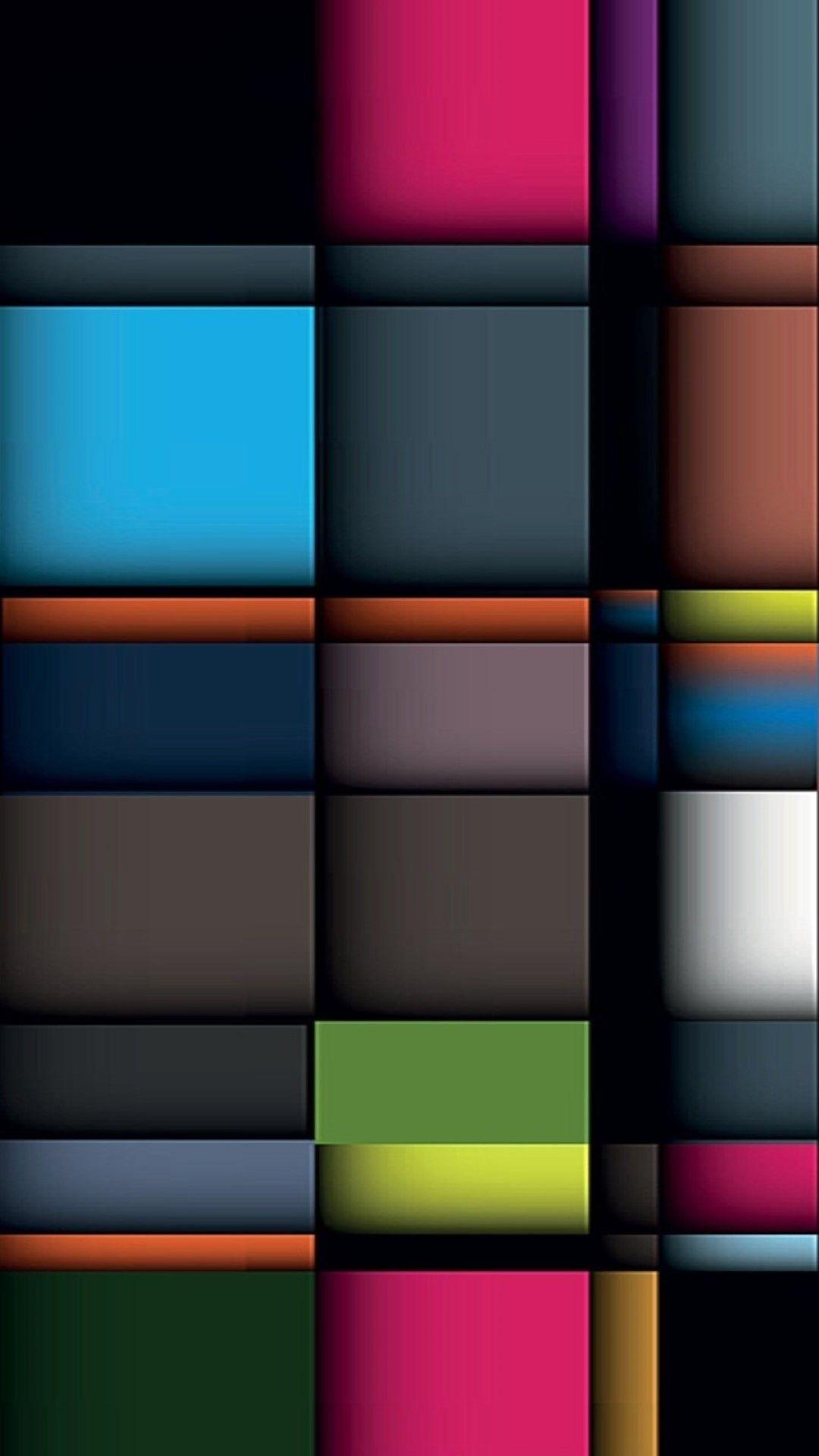 Iphone Wallpaper Colorful 3d Pattern Oboi Oboi Fony Oboi Dlya