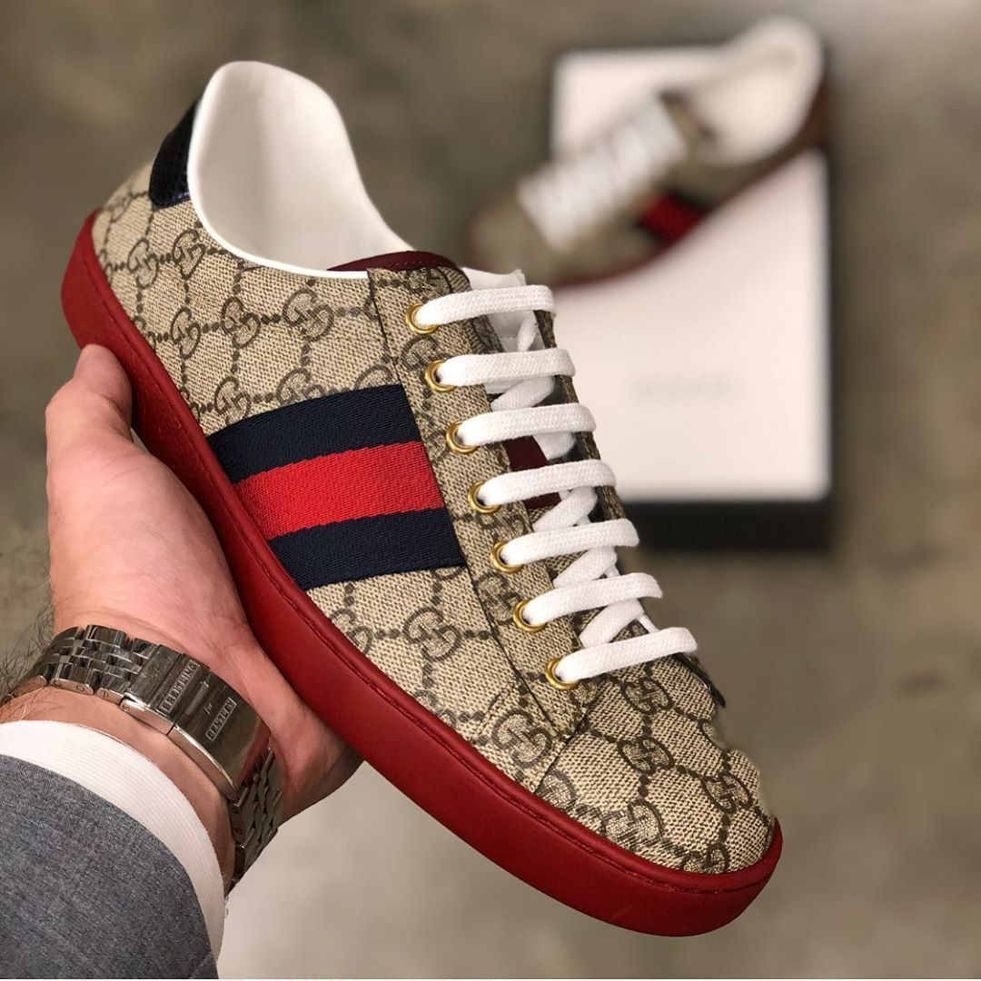 Gucci Red Bottoms ᴿᴱˢᵀᴼᶜᴷᴱᴰ | Premium
