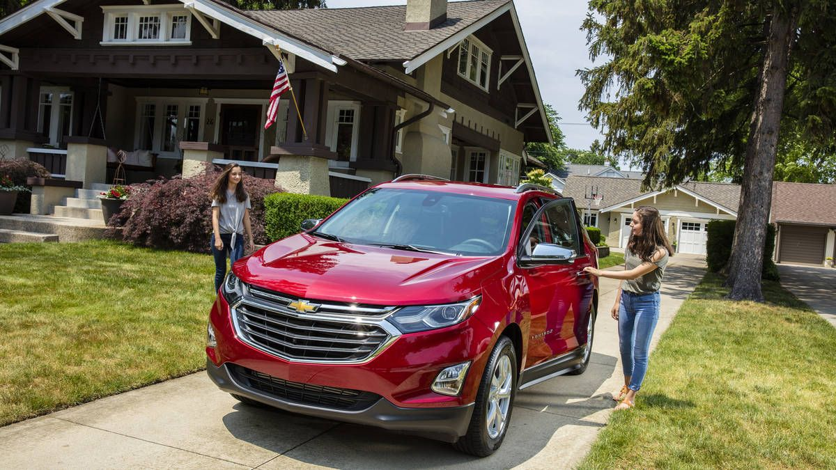 2018 Chevrolet Equinox Review Big Improvements For A Family