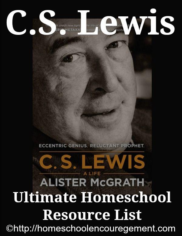 C.S. Lewis - Ultimate Resource List for Homeschool ...