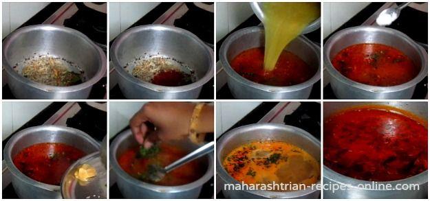 9 katachi amti recipe marathi fav food pinterest curry 9 katachi amti recipe marathi forumfinder Choice Image