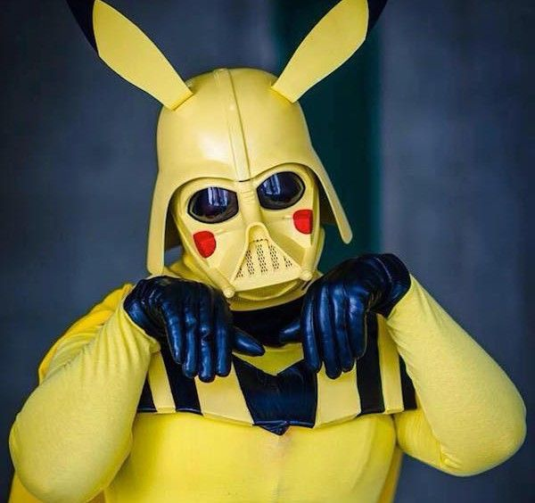 Darth Pikachu Is Going To Force Choke 'Em All [Cosplay]