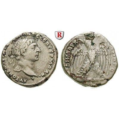 Römische Provinzialprägungen, Seleukis und Pieria, Antiocheia am Orontes, Traianus, Tetradrachme 103-111, ss: Seleukis und Pieria,… #coins