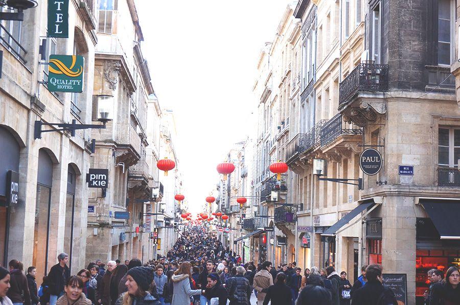 Une virée à Bordeaux (avec images) Bordeaux, Rue sainte