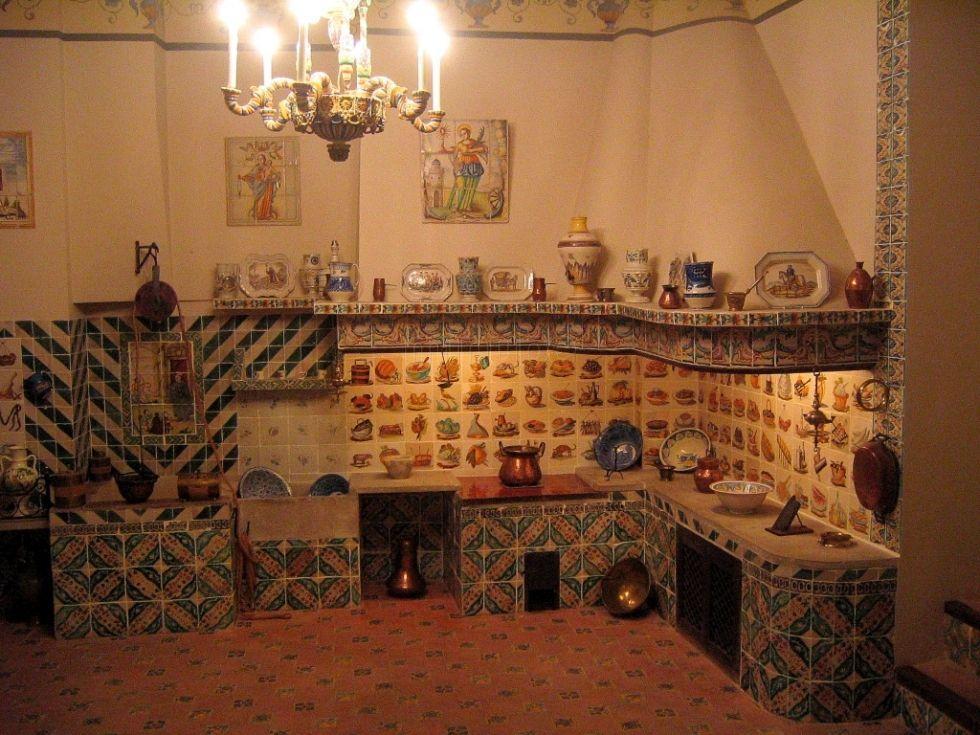 Cocina tradicional valenciana museo nacional de ceramica for Cocina valenciana