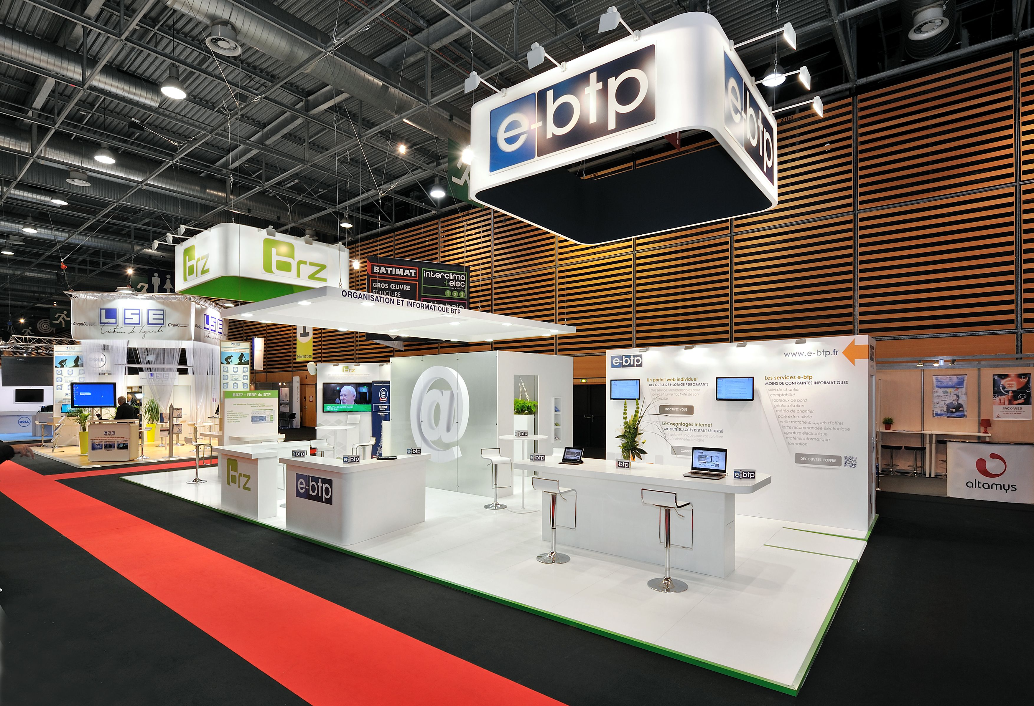 Salon Batimat Salon Batimat Designdelevenement Stand Design 展示设计