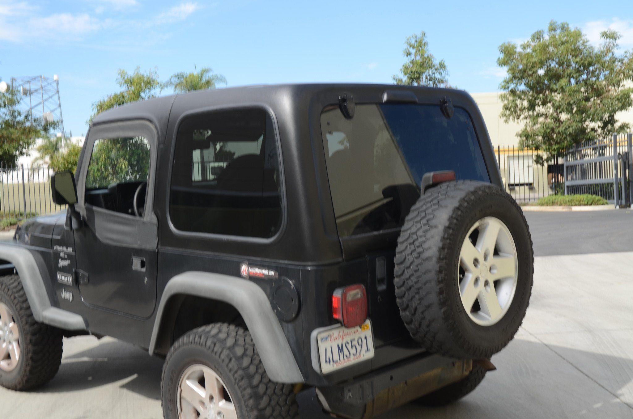 Tj Top Hard Top Ht96sb22 Wrangler Tj Jeep Tj Jeep