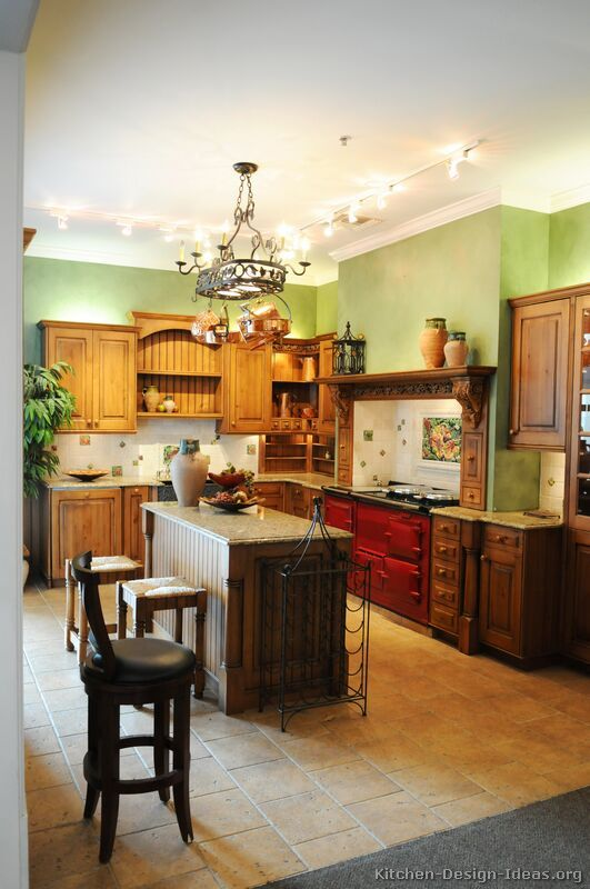 kitchen of the day a traditional italian kitchen design with a red