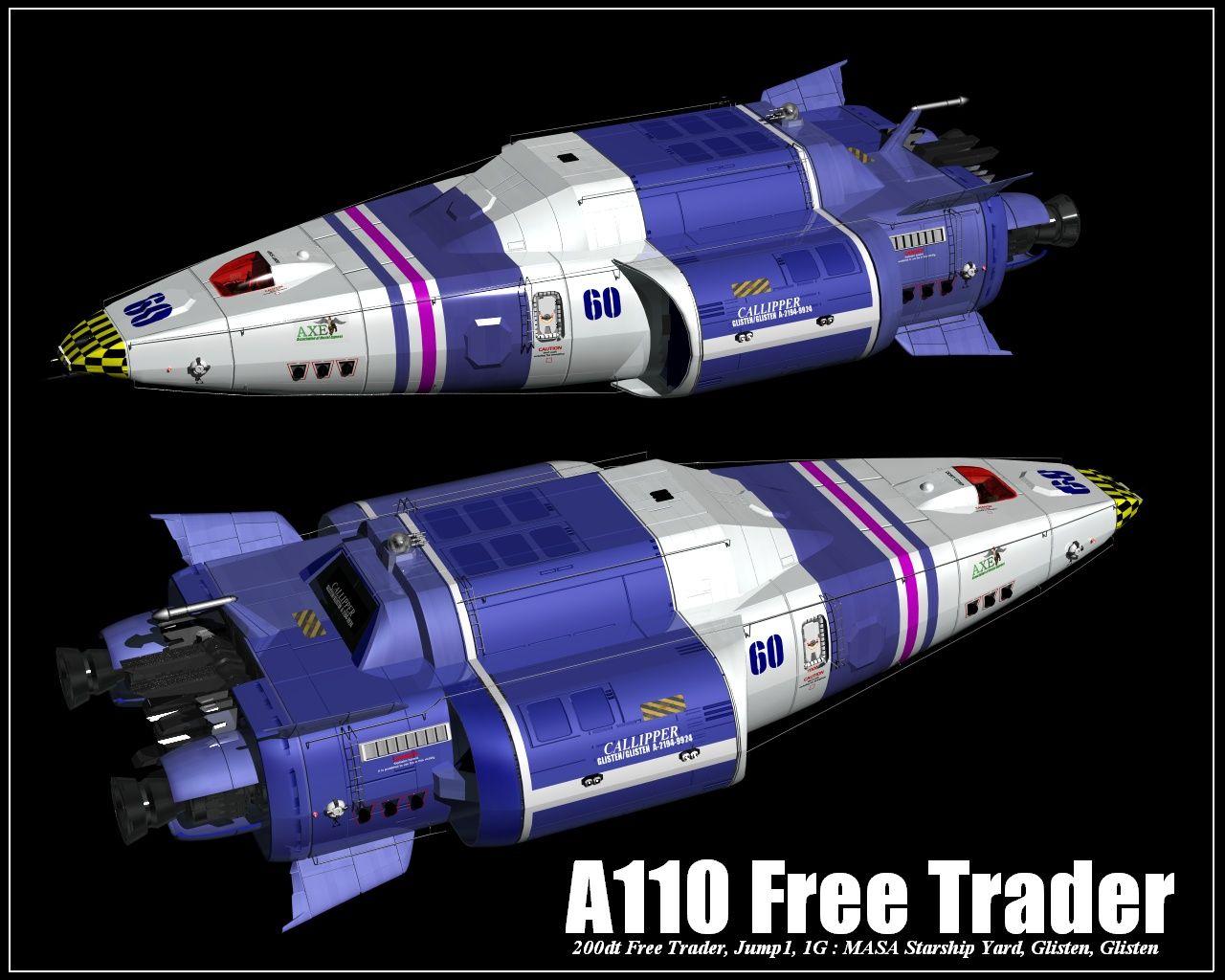 magmagmag's A110 Free Trader | Traveller | Pinterest | RPG ...