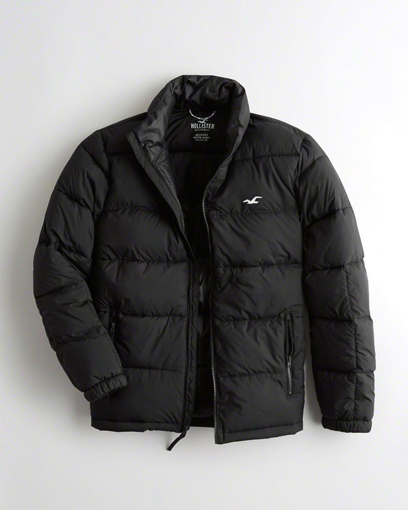 Guys Recycled Fill Mockneck Puffer Jacket Guys Jackets Coats Hollisterco Com Giftryapp Jackets Puffer Jackets Winter Jackets [ 1000 x 800 Pixel ]