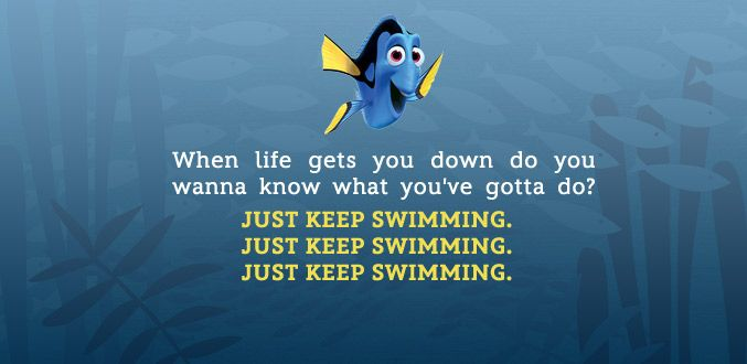 Dory Quotes Love Ellen As Dory In #findingnemo Such A Great #filmquote  Film .