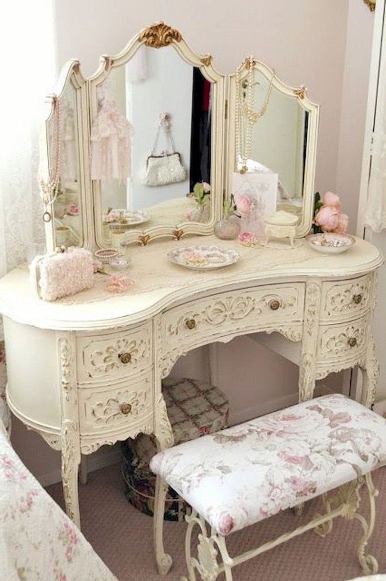 85 Sweet Shabby Chic Bedroom Decor Furniture Inspirations