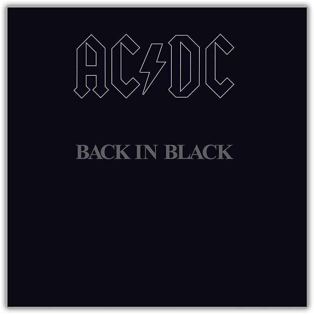 Sony Ac Dc Back In Black Vinyl Lp In 2020 Music Album Cover Back To Black Acdc