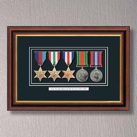 Medal Frame for 5 Medals | Military Frame for Service Medals | home ...