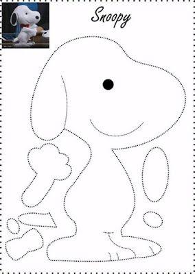 6 Moldes gratis para hacer muñecos de fieltro infantiles ~ Haz Manualidades #fieltromanualidades