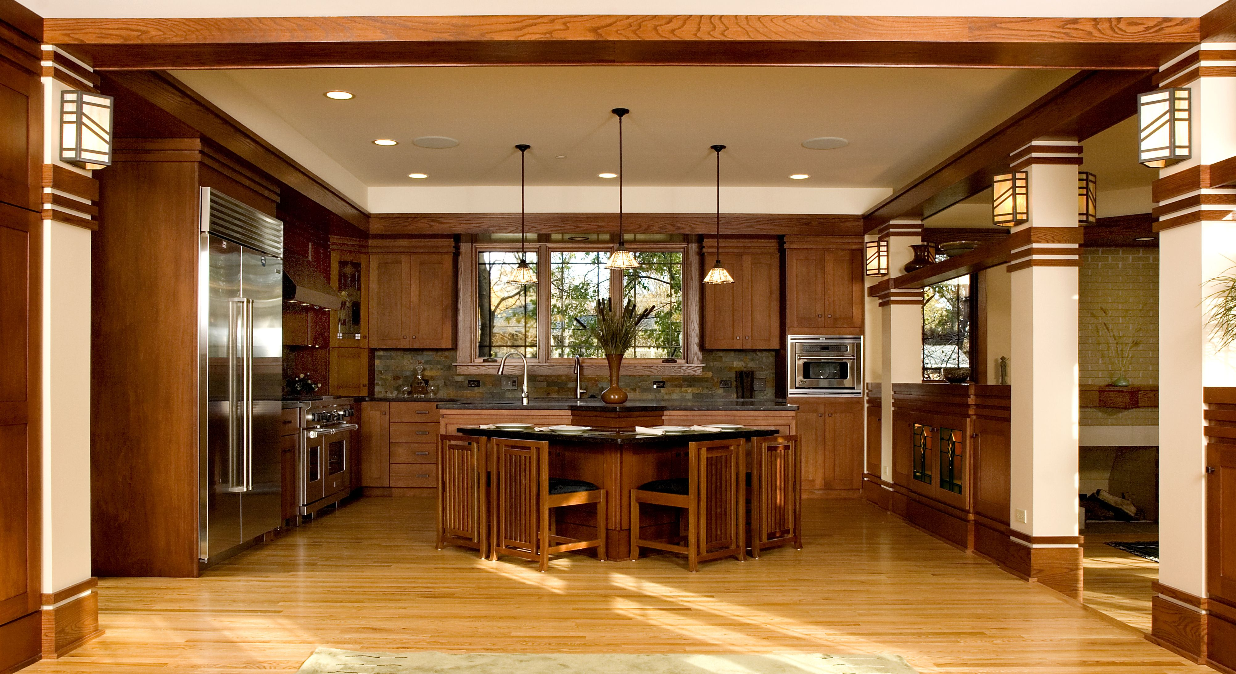 Attrayant Frank Lloyd Wright Style Home Home Decor Qarmazi Awesome Frank Lloyd Wright  Kitchen Design