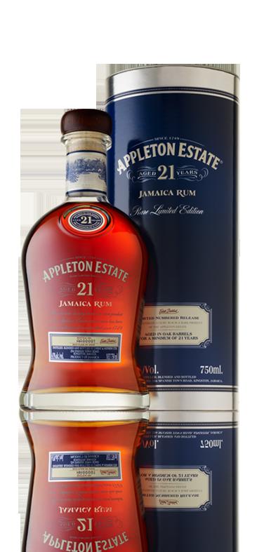 Appleton Estate 21 Year Old Rum Appleton estate, Rum