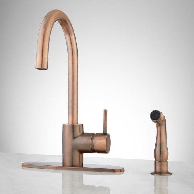 Chrome Copper Kitchen Faucets Faucet Bathroom Sinks Fixtures