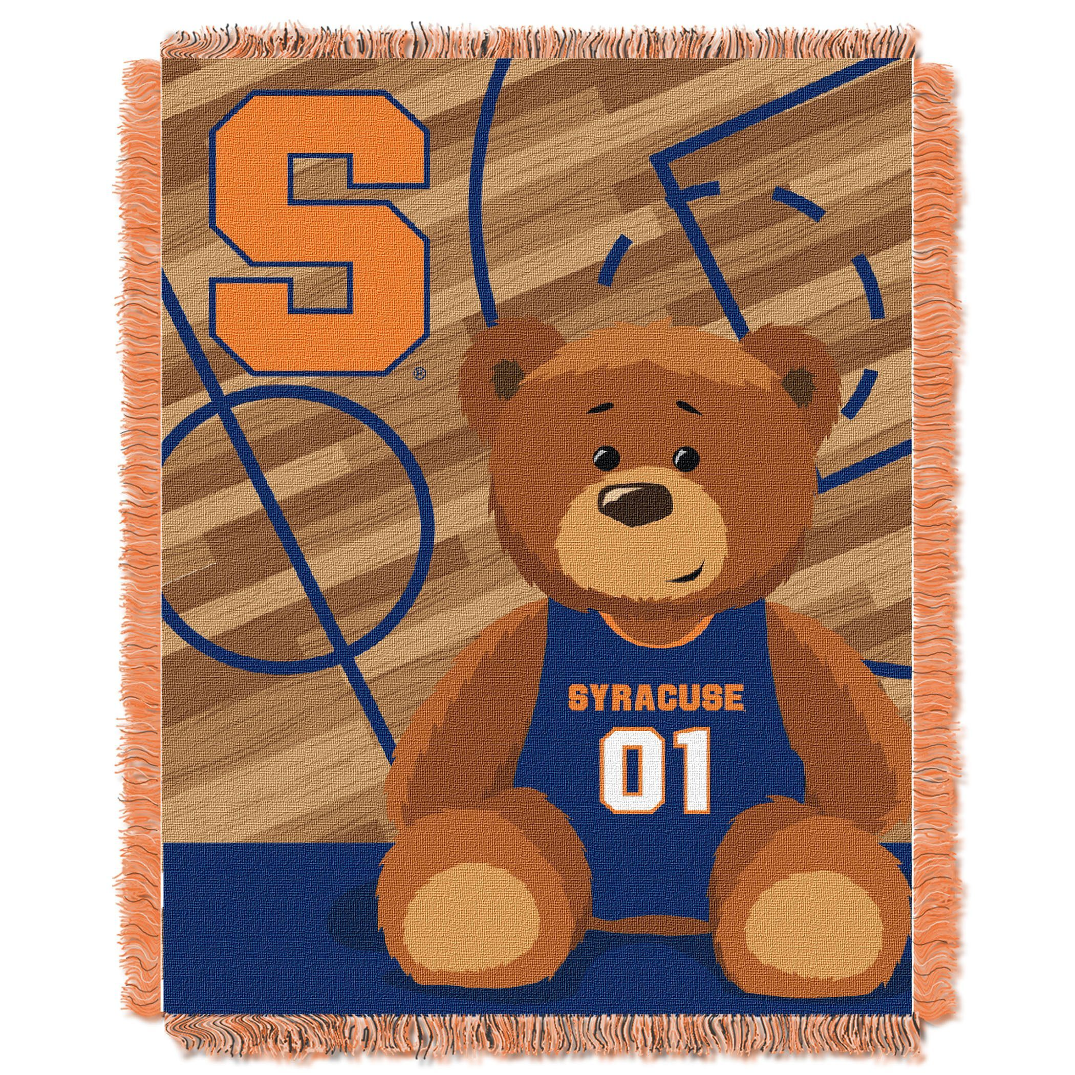 Syracuse University colored Baby Blanket Products