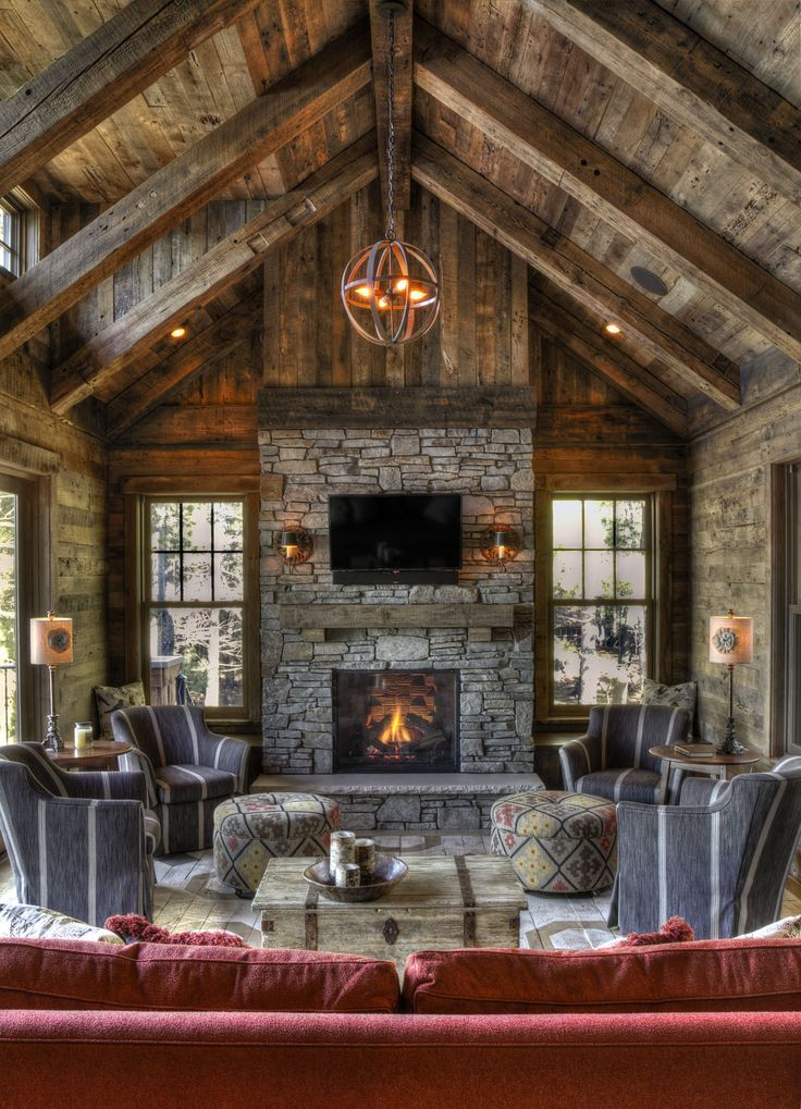 superior rustic timber frame homes #7: Image result for skeleton of timber frame living room