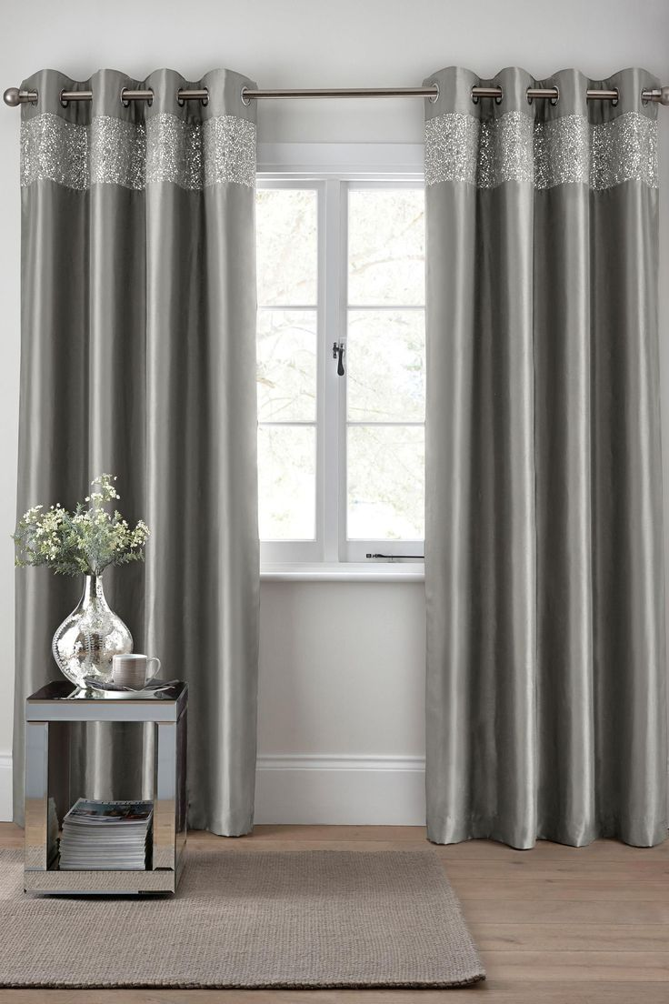 20 Living Room Curtains Ideas - Window Drapes for Living Rooms images