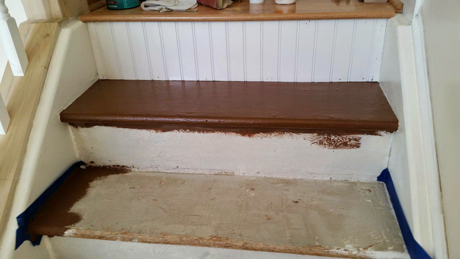 Particle Board You Can T Cover Particle Board They Said It   Particle Board Stair Treads   Uncarpeted   Mdf   Refinish   Rough Cut   Recycled