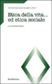#Etica della vita ed etica sociale editore Rubbettino  ad Euro 8.50 in #Rubbettino #Libri religione e spiritualita