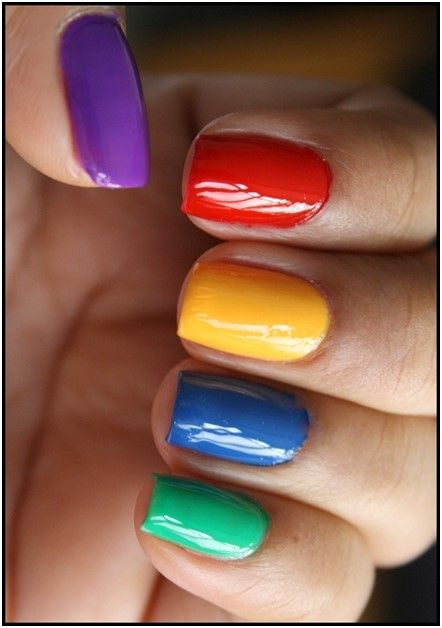 Simple Nail Art Design Step By Step Process For Creating Comic Pop