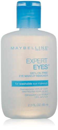 Maybelline Expert Eyes 100% Oil Free Eye Make-Up Remover - 2.3 Fl Oz (Pack of 3) Glo Balancing Moisture Remedy 1.7 oz