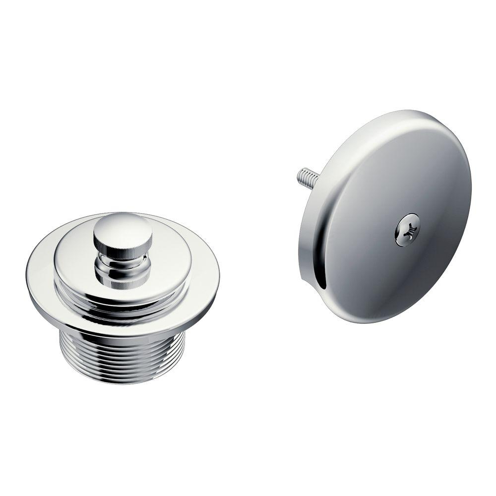 MOEN Tub and Shower Drain Covers in Chrome Grey Products